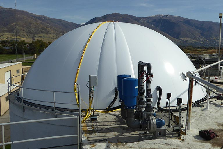 DuoSphere for gas storage