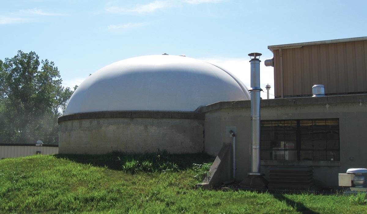 DuoSphere Gasholder Tank