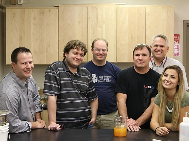 WesTech laboratory team members