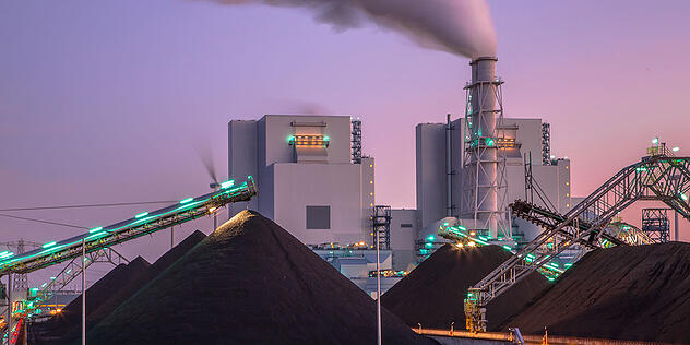 coal fired power plant image