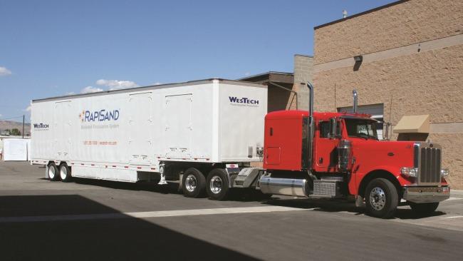 rapisand mobile unit
