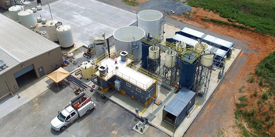 Plant Bowen Southern Company FGD wastewater