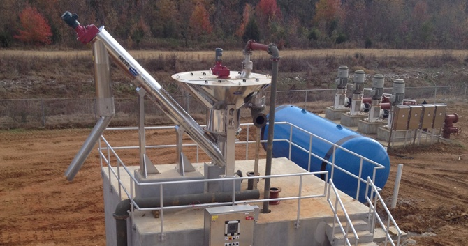 CleanGritt Organics Removal System