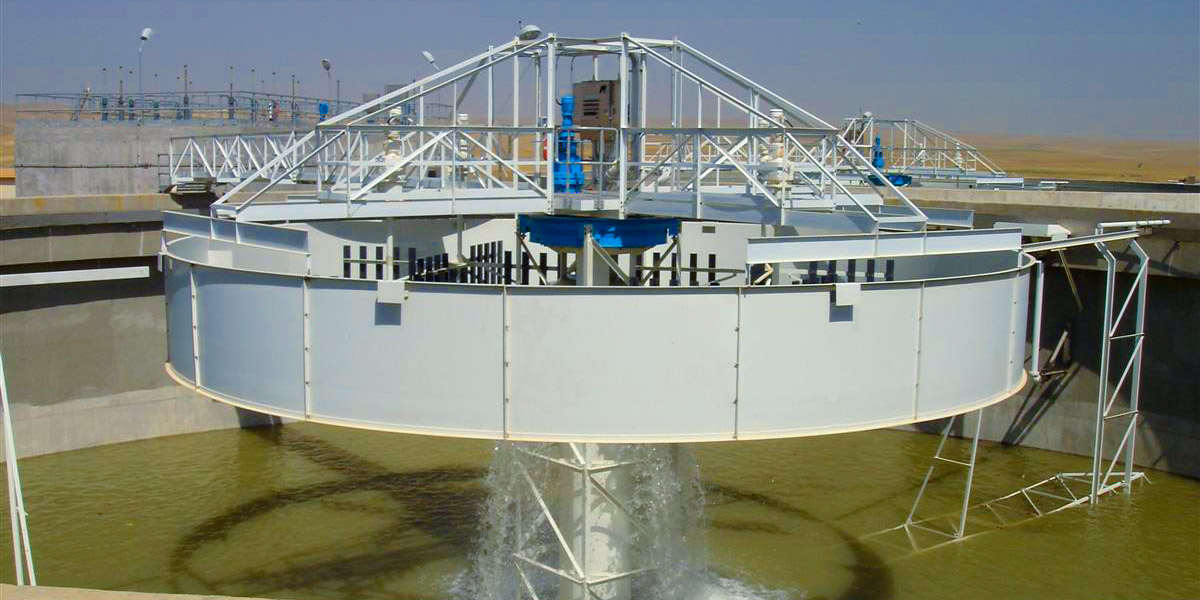 Flocculating Clarifier for water treatment