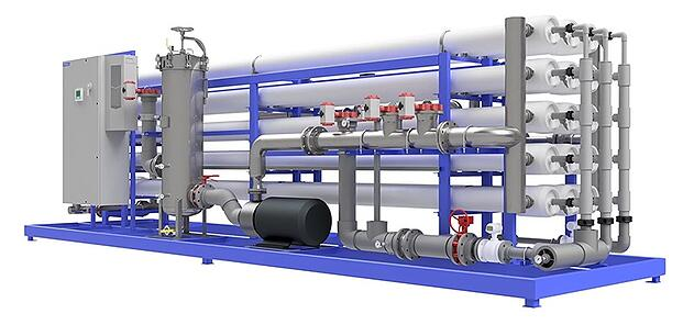 Reverse osmosis membrane filtration system