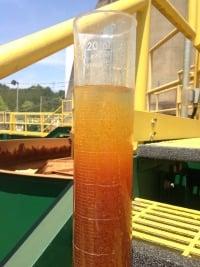 acid mine drainage settling test