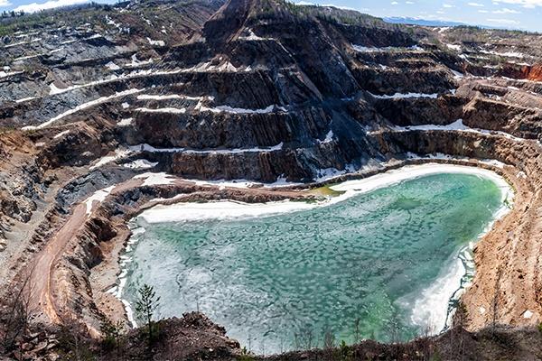 Mine Runoff Water