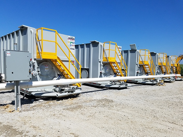 Mobile Wastewater Treatment Solution
