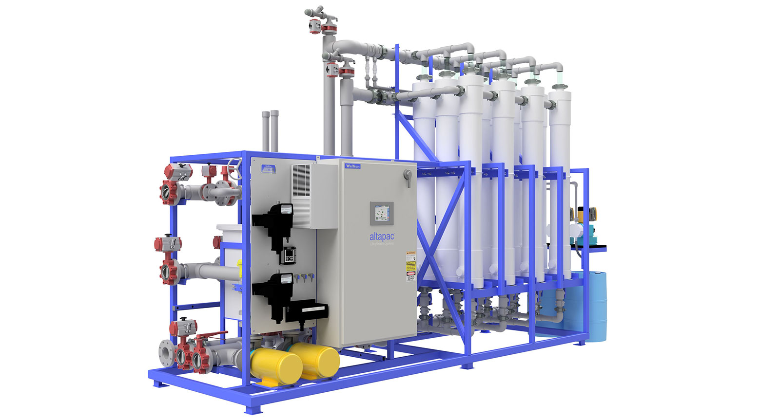 AltaPac Ultrafiltration Membrane Package System Rendering