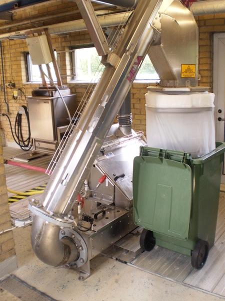 CleanWash Screw Wash Press and Counter Pressure Screw