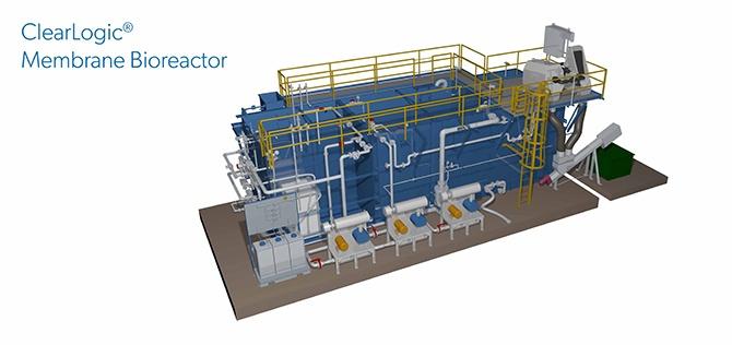ClearLogic membrane bioreactor rendering