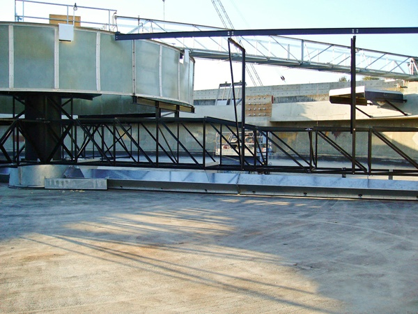 COP Suction Header Clarifier