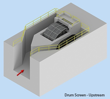 Drum Screen Upstream