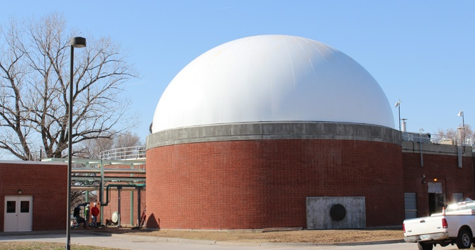 DuoSphere Double Membrane Gas Holder