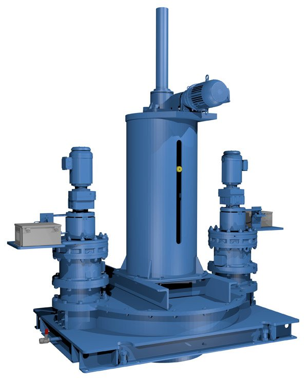 Shaft Drive with Lift unit rendering