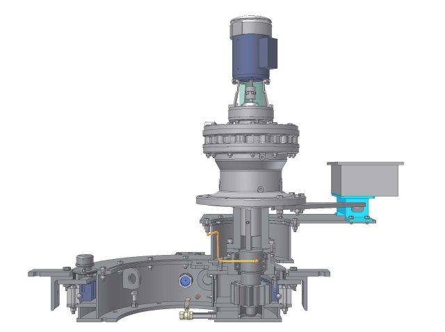 Cage Drive Unit cutaway rendering