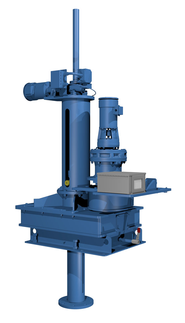 Shaft Drive Unit with Lift rendering
