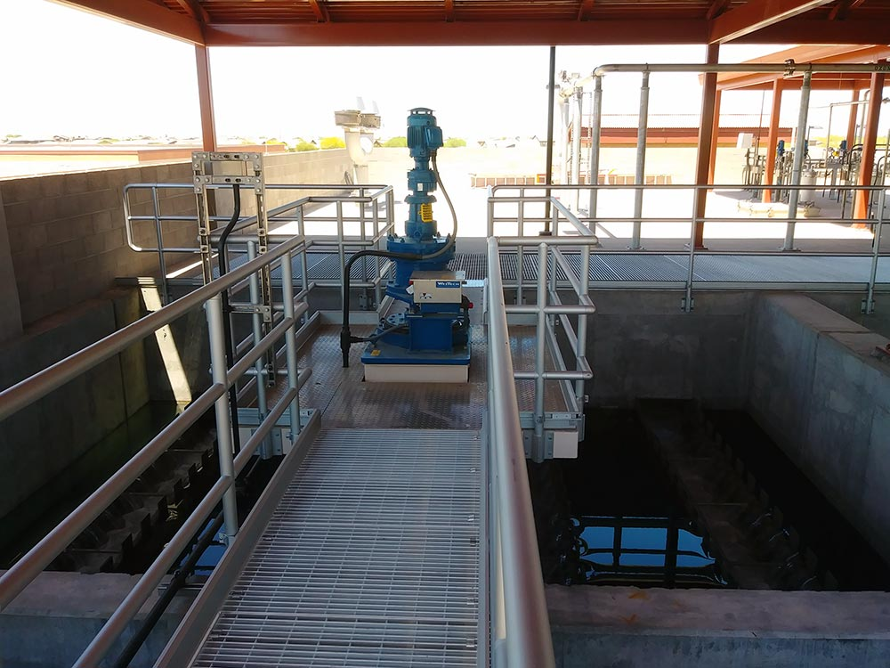 RapiSand ballasted flocculation drive unit
