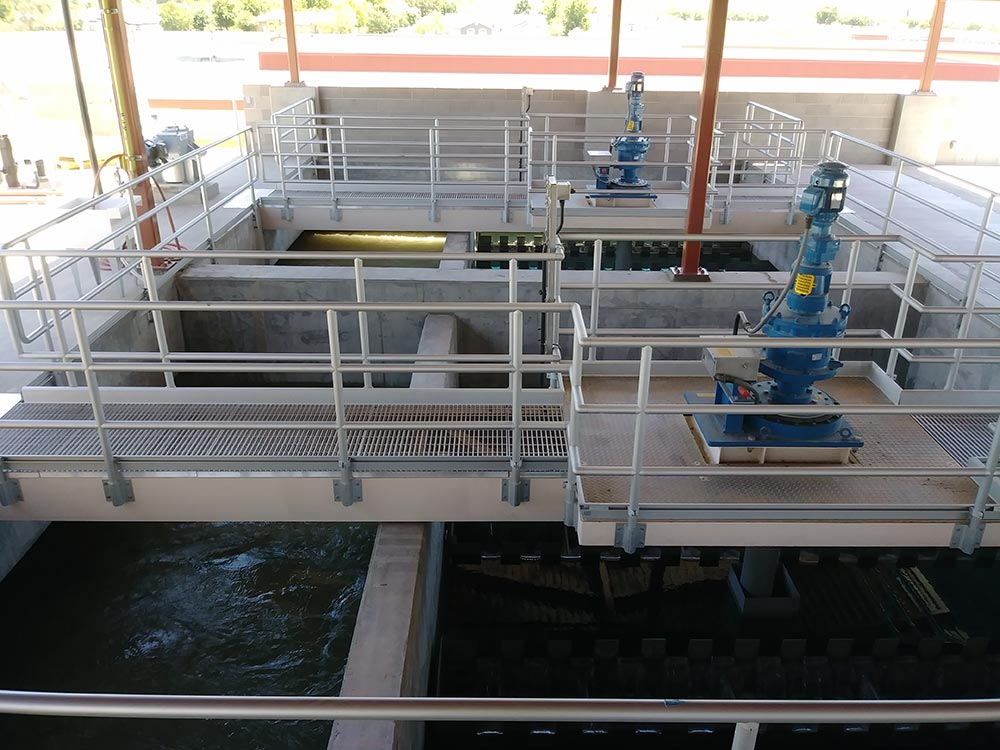 RapiSand ballasted flocculation drive units