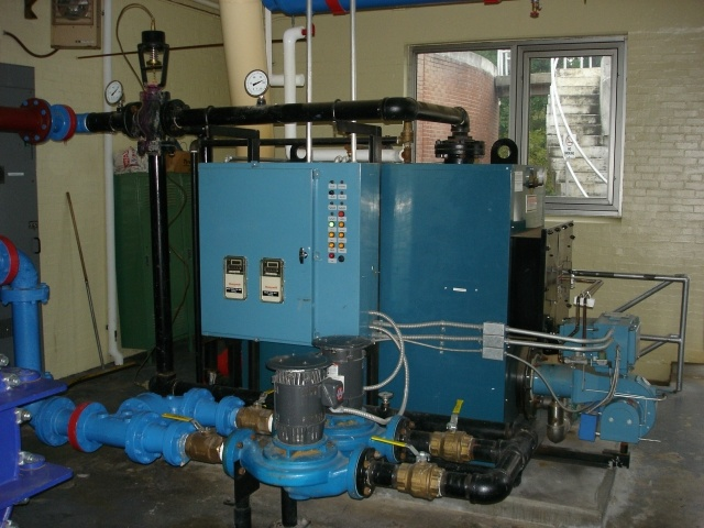 Sludge Heating System Closer