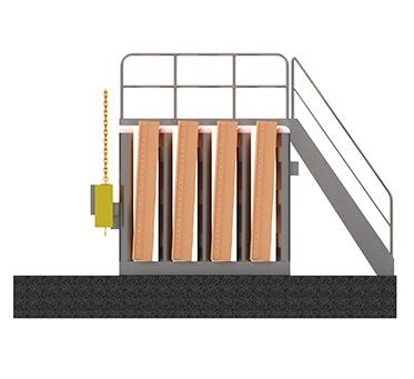 Stop Gates Above Deck Storage