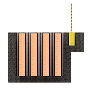 Stop Gates Concrete Storage