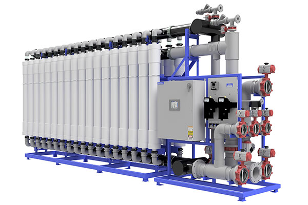 Membrane Filtration Rendering